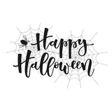Happy halloween greeting - 123190887