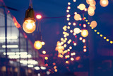 Lights decoration Event festival and Christmas lights outdoor