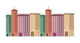 buildings cityscape skyline icon vector illustration design
