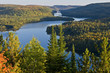 Top of Mauricie National Park