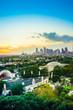 Dallas Skyline Sunset