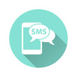 SMS - vector icon.