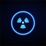 Glowing App Button - Dark