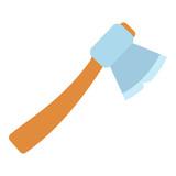 Axe icon. Flat illustration of axe vector icon for web.