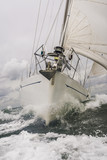Close up of Sailing Boat or Yacht at sea - 123348047