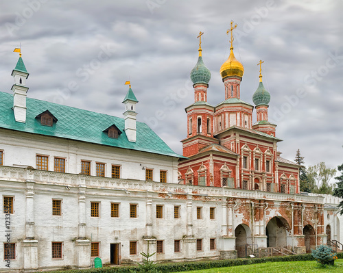 Poster, Tablou Novodevichy convent in Moscow