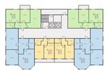 Fototapety house floor vector set