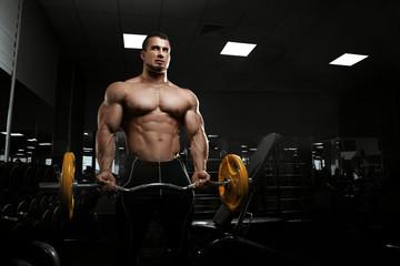 Muscular athletic bodybuilder © Restyler