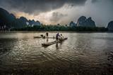 Asian fisherman