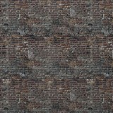 Red old brick wall background. 3d render