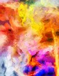 Colorful Abstract Painting - 123400446