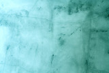 Cyan concrete wall background with texture
