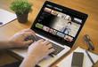 computer desktop video on demand