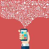 Smart phone apps and cloud technology