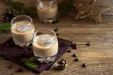 Irish cream coffee liqueur