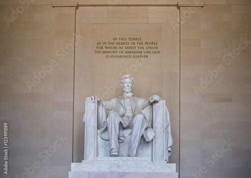 Poster Lincoln Memorial Washington DC