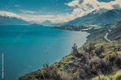Queenstown Glenorchy road Poster