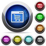 Webshop application button set