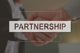 Concept of partnership - 123597803