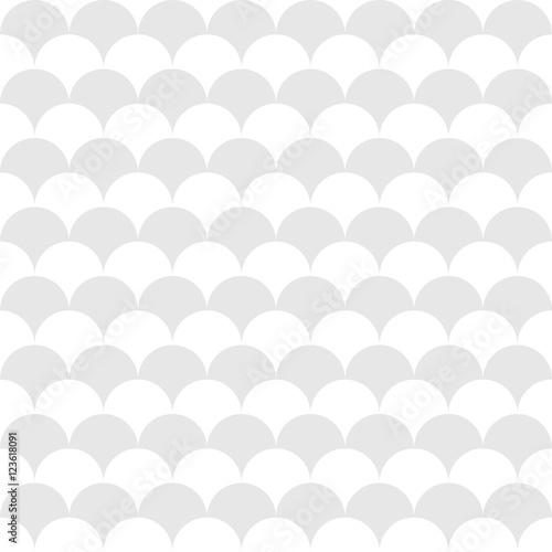 Vector modern abstract geometry pattern. gray subtle seamless geometric background . subtle pillow and bed sheet design. creative art deco. hipster fashion print - 123618091