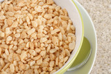 Puffed rice breakfast cereal