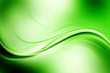 Abstract wave beautiful green background for design. Modern business concept illustration.