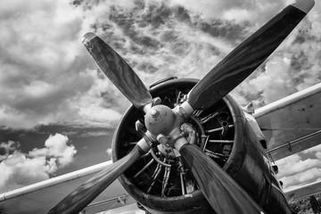 fototapeta śmigło samolotu
