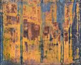 Rusted metal gate, Penang, Malaysia - 123670650