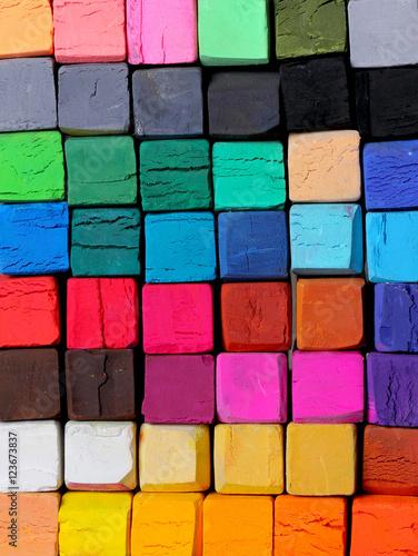 pastelowe kwadratowe różne kolory tła tekstury