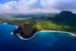 Aerial Hawaiian Coastline