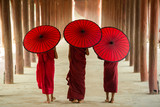These novices or priests in Burma.