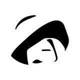 donna con cappellino