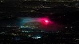 Rose Bowl Stadium, Los Angeles July 4th Firework Finale Timelapse
