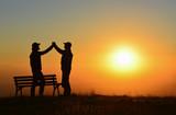 İki İnsanın Anlaşma Sevinci