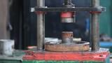 Vintage mechanical press
