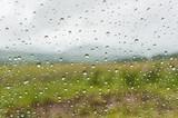 water drops window rain