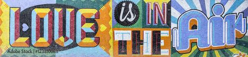 Fotobehang Buenos Aires Wall mosaic