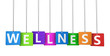 Wellness Colorful Tags