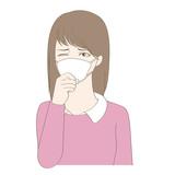 風邪女性02