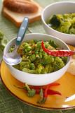 insalata di verdure al forno con peperoncino