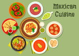 Mexican cuisine restaurant dinner icon