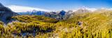Valmalenco (IT) - Panoramica aerea autunnale dall
