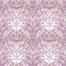 Jednolite wzór z jasnych eleganckimi motywami kwiatowymi.