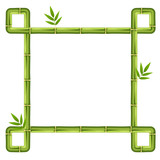 Bamboo frame and border
