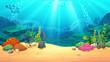 Underwater world - 123888205