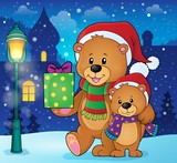 Christmas bears theme image 2