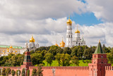 View of the Moscow Kremlin.