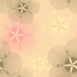 Materiał do szycia graphic flowers seamless pattern in pink and gray
