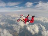 Santa Claus Skydiver