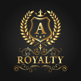 Royal Brand Logo, Luxury Logo Vector Design Eps 10